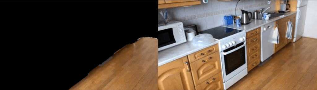 floor detection point cloud video