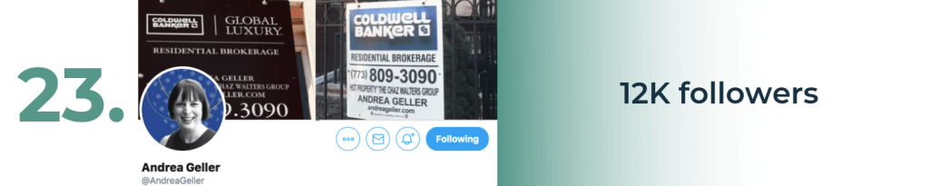 andrea geller twitter top account