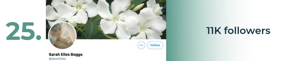 sarah elles boggs twitter top account