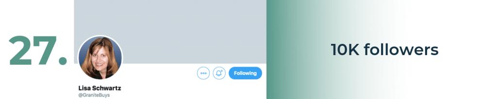 lisa schwartz twitter top account