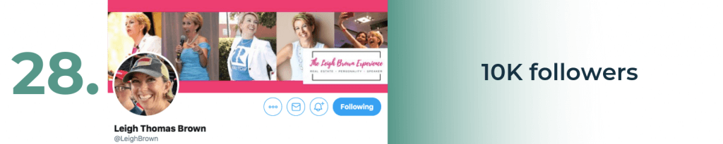 leigh thomas brown twitter top account