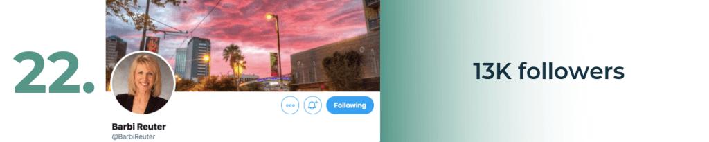 barbi reuter twitter top accounts