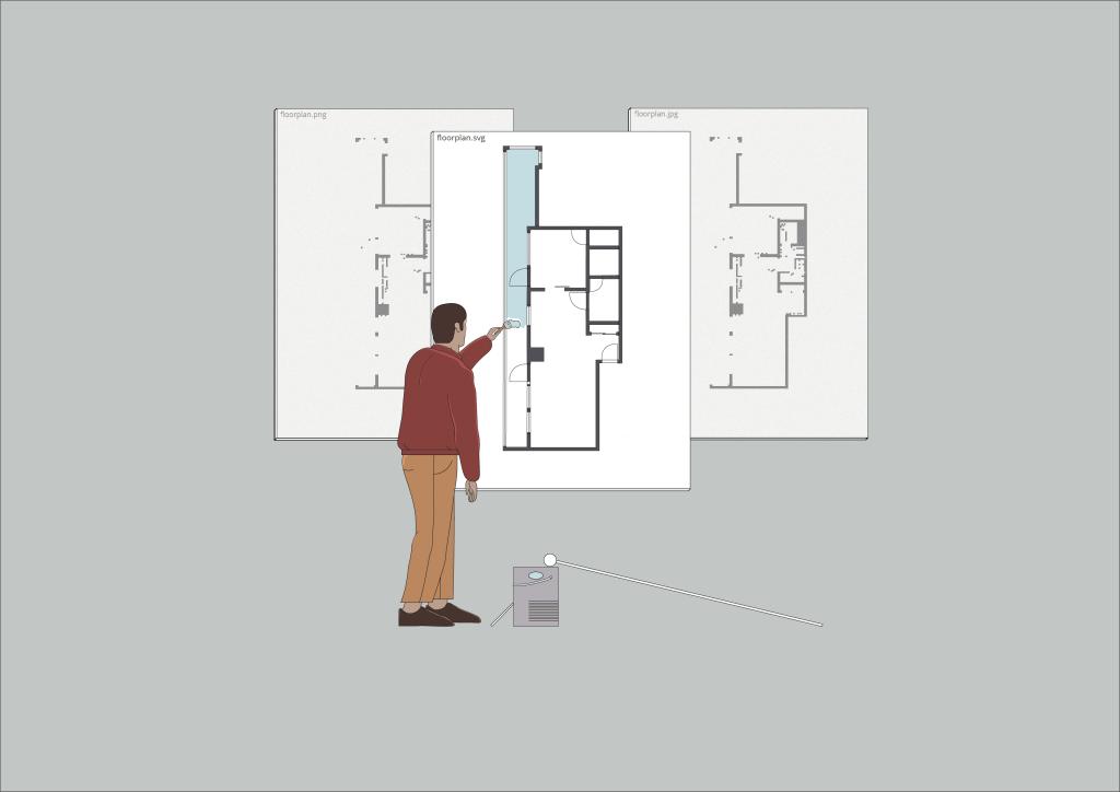 SVG floor plan