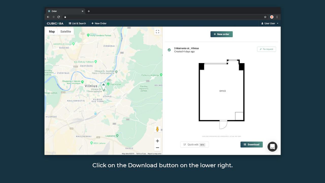 cubicasa app download web portal