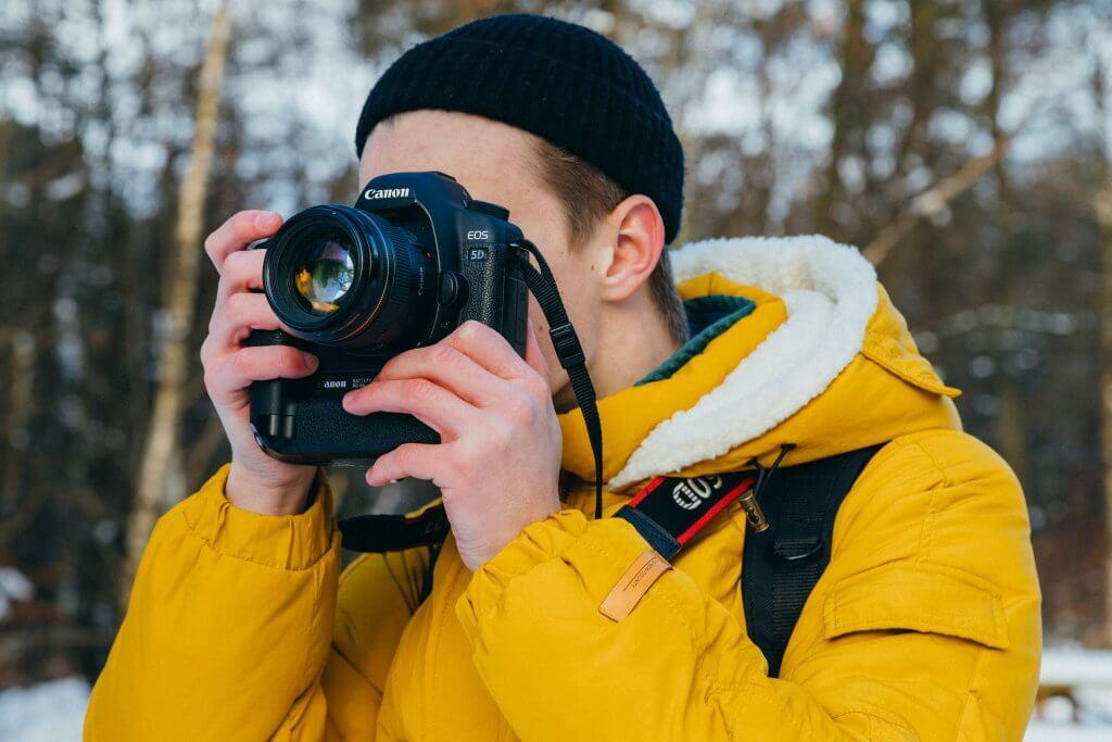 build photography portfolio