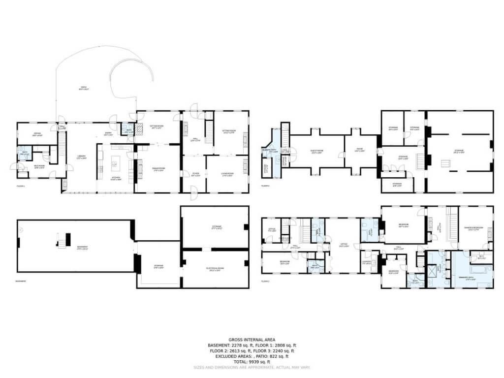 floor plan from Dan Williams Photogrphy