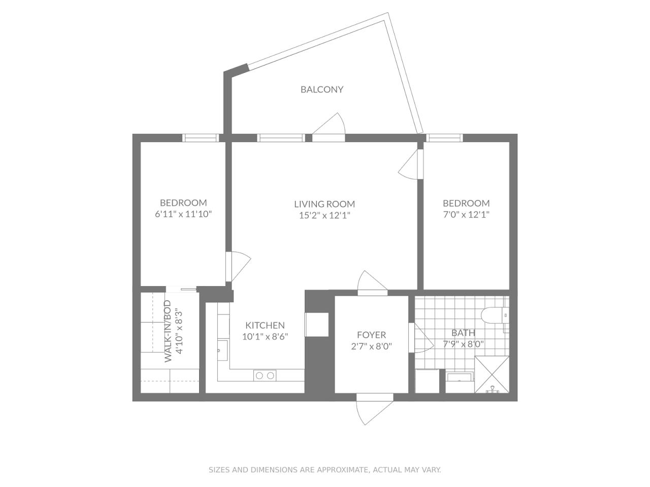 Floor plan theme: Elegant