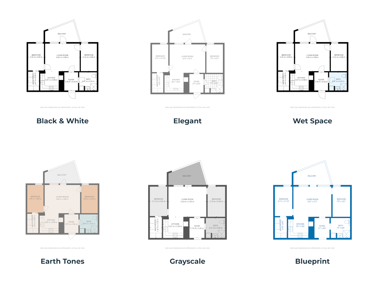 floor plan themes
