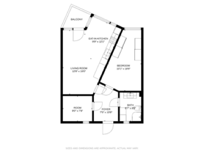 CubiCasa 2.0 Black & White floor plan theme