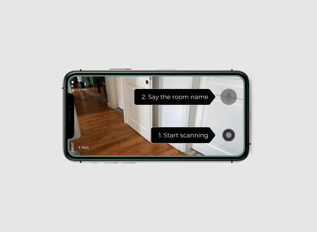 scan with floor plan app