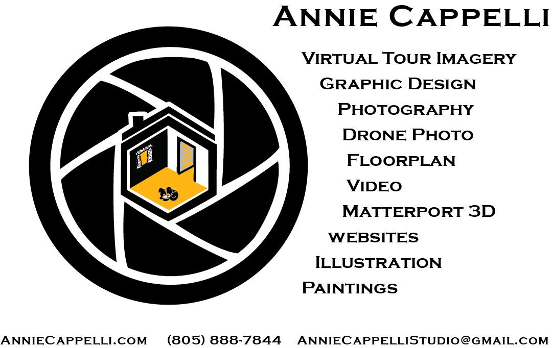Annie Cappelli Studio floor plan in Bakersfield