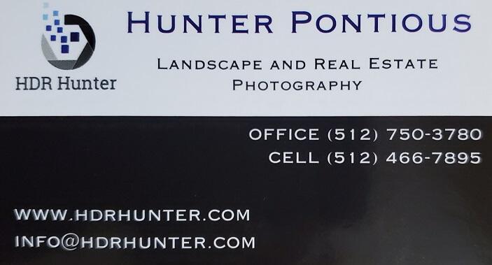 Hunter Pontious Photography floor plan Dallas
